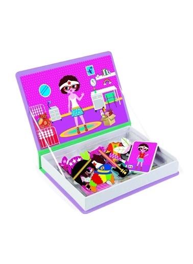Bunjoy Magnetiq Kıyafet Giydirme Kostümler (Diy-Toy Yayınları) Renkli